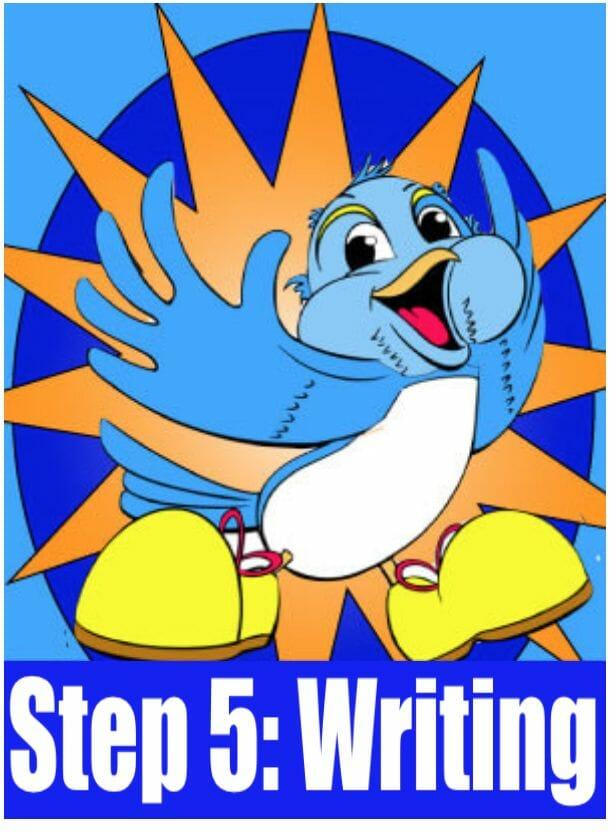 Whole Brain Teaching Step 5 Writing