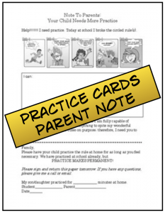 Practice Cards Parent Note