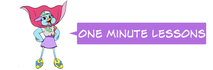 One Minute Lessons