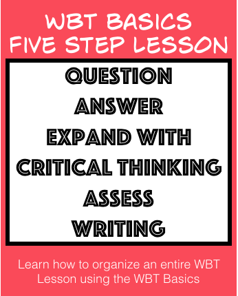 Five Step Lesson Plan