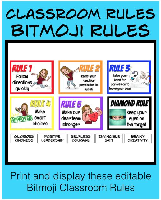 Bitmoji Rules